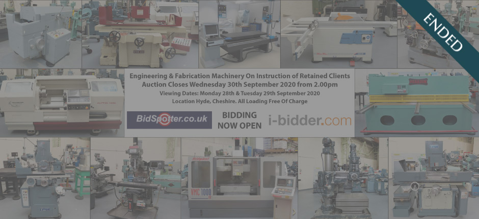 Engineering & Fabrication Machinery On Instruction of Retained Client (ended)